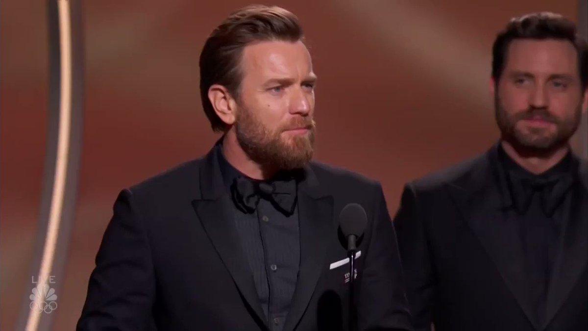 Ewan McGregor won his very first Golden Globe for @FargoFX