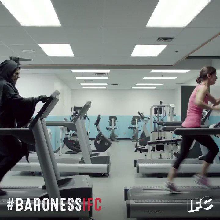 Fitness goals. #BaronessIFC https://t.co/rQj5Lx783m