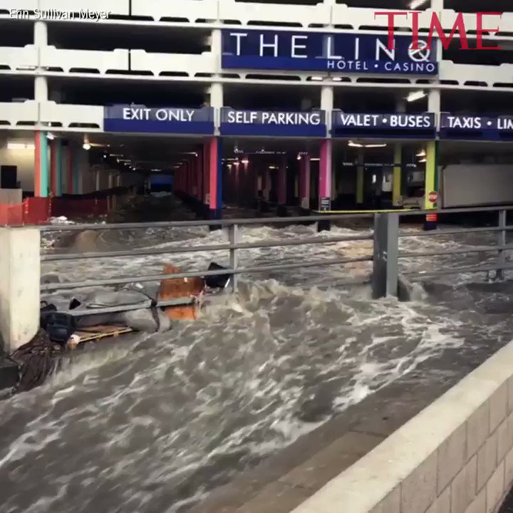 Las Vegas parking garage overflows with raging rapids https://t.co/B8GEIsGpjQ