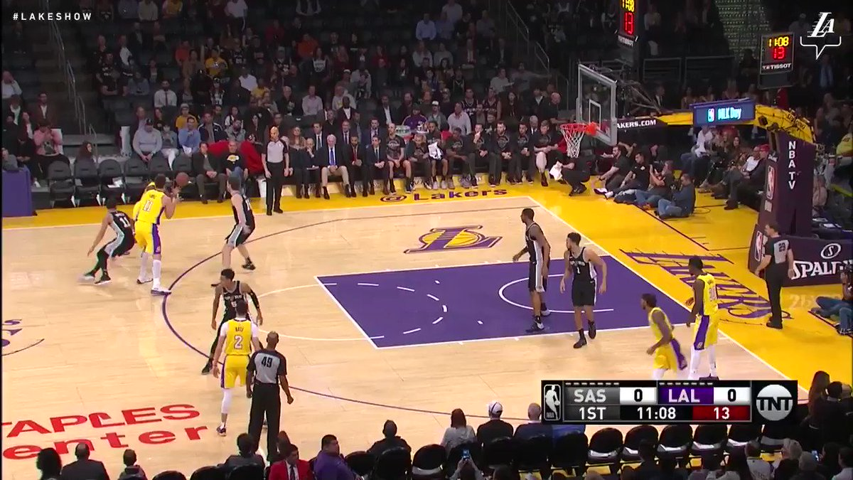 �� Brandon Ingram led the Lakers in scoring tonight with 26 points against San Antonio #NBAVote https://t.co/Dwz9F9rixE