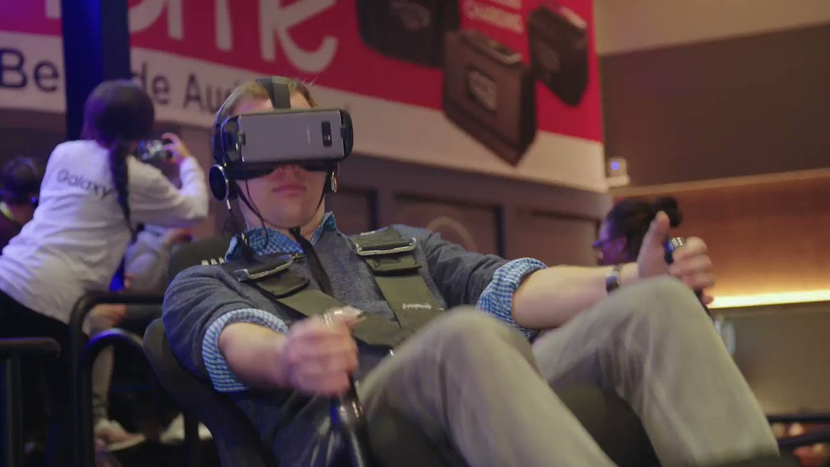 We tried out the most ridiculous VR and AR headsets at #CES​2018. Here's what they were like https://t.co/Lo7hyi0K0X