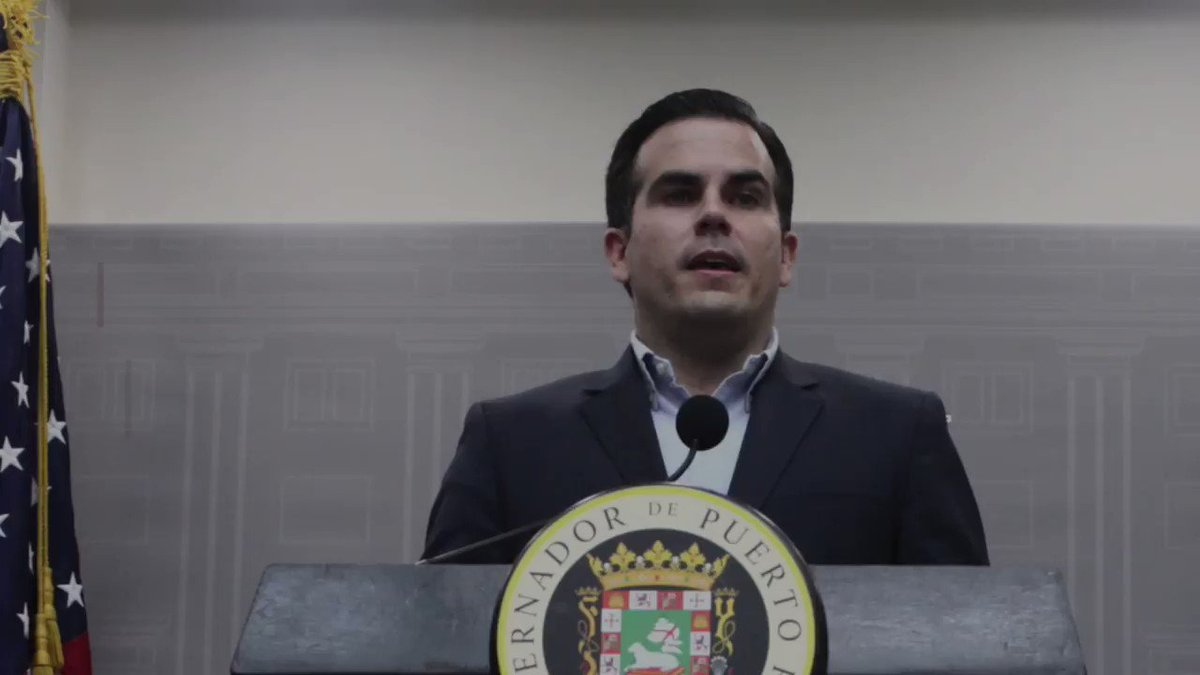 WATCH: Puerto Rico's governor makes a big push for statehood. Watch more from @ReutersTV: https://t.co/8lgMAy9Yka https://t.co/x4rOTiGYFv