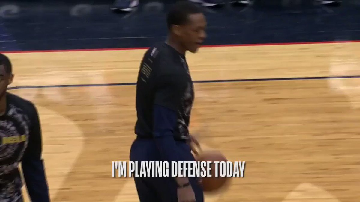 �� the best of @RajonRondo mic'd up for the @PelicansNBA! #DoItBig https://t.co/cqbgN6aVuN