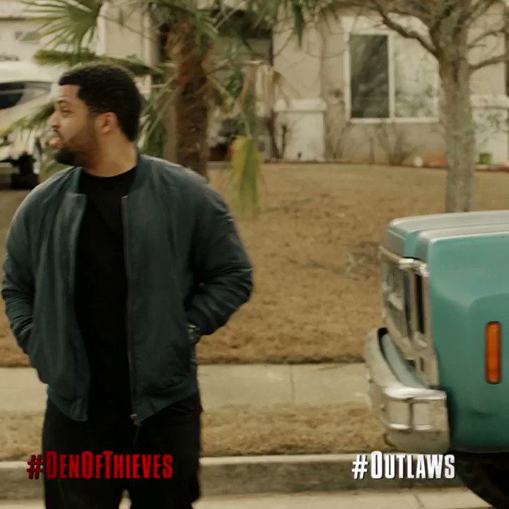 Checkout my son in @Den_Of_Thieves. Grab your tickets: https://t.co/BludpC1dtt https://t.co/jrImwyz7IG