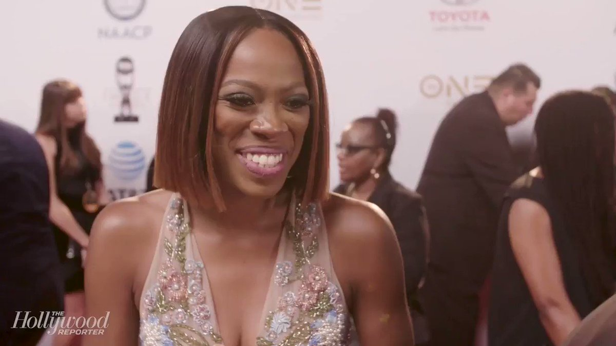 .@YvonneOrji teases @InsecureHBO at the #ImageAwards: 'Issa and Molly are still going to be friends.' https://t.co/wJXPeqTbfn
