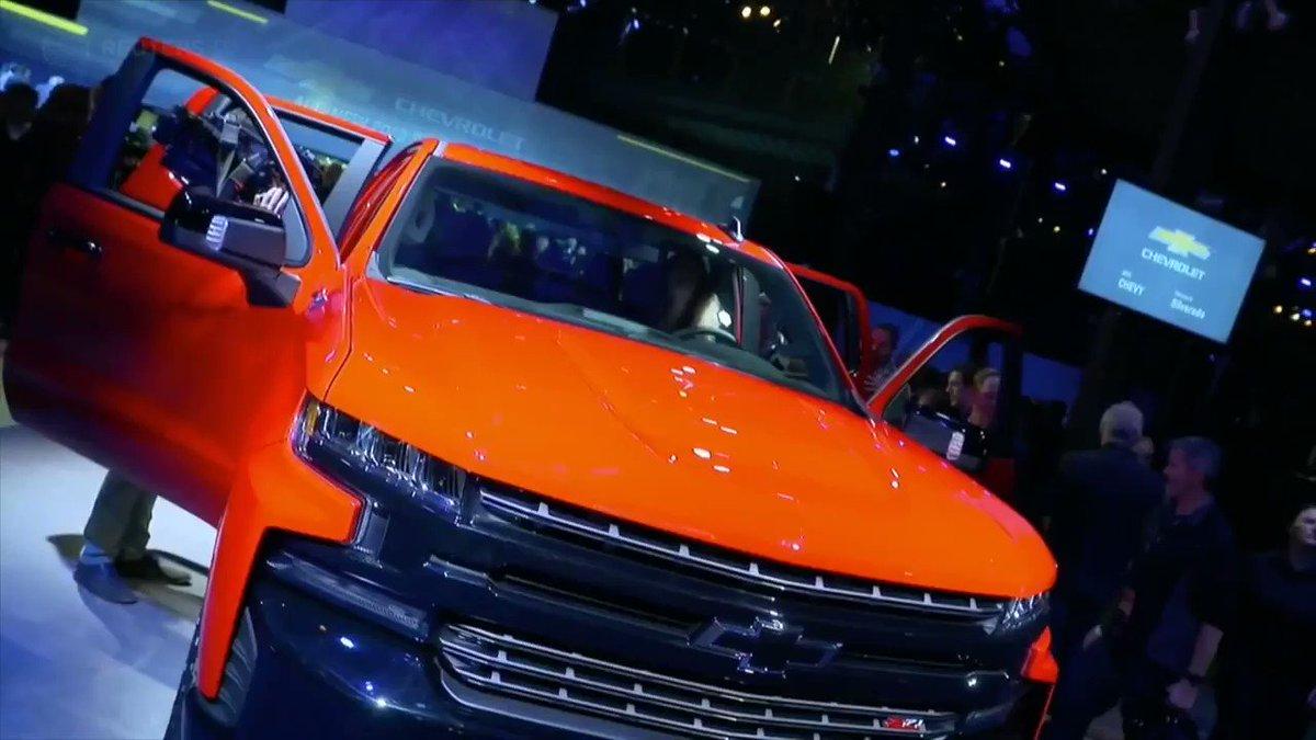 WATCH: $GM bets big on steel at Detroit Auto Show https://t.co/n1eNJQ44Zh via @ReutersTV #NAIAS https://t.co/x0h8VkmCFQ