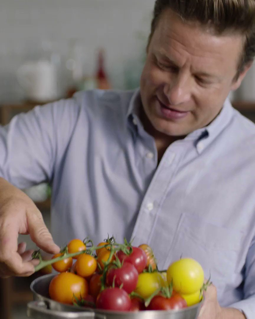 Here's Jamie's brilliant recipe for taking your humble tomato salad to the next level. https://t.co/GUVVEsY9wd