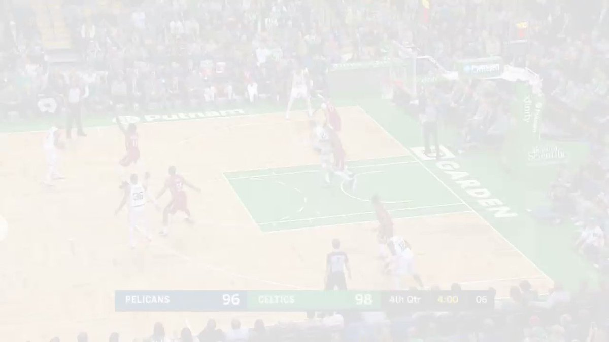 The best of the @PelicansNBA/@Celtics OT thriller! https://t.co/snA1N15Yc7
