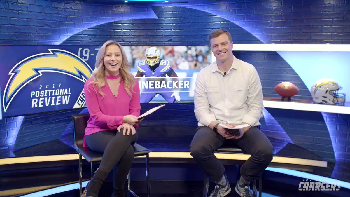 .@ChargersHElwood and @chrishayre evaluate the play of the 2017 linebackers. https://t.co/EgRTFbLkW4
