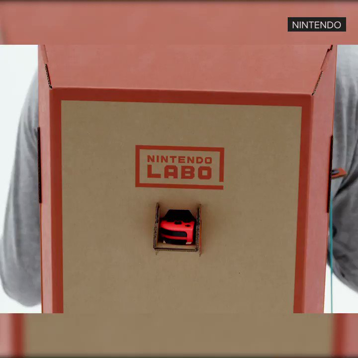 Nintendo announced a new product... and it's all cardboard https://t.co/c3i8utSUlQ