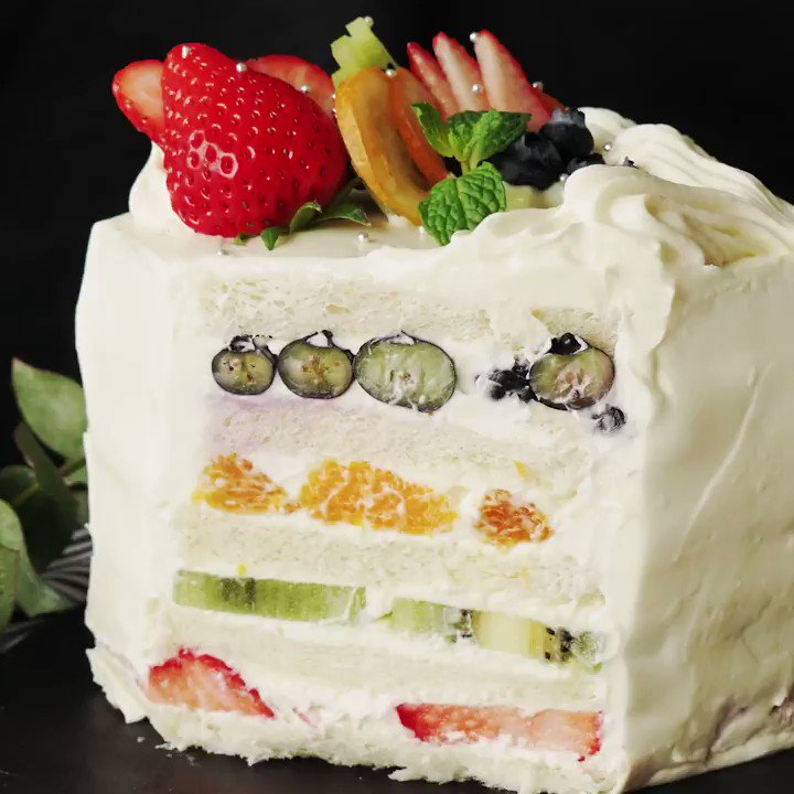 RT @Tastemade_japan: 【萌え断レシピ】カラフルフルーツサンドイッ