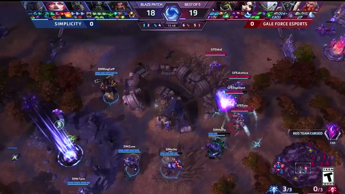 RT @HeroesEsports: This time, the worm gets the bird. #HGC @iHosty_  ▶️Tune in: https://t.co/ltpaGYqfmp https://t.co/zXexVL3Ocp