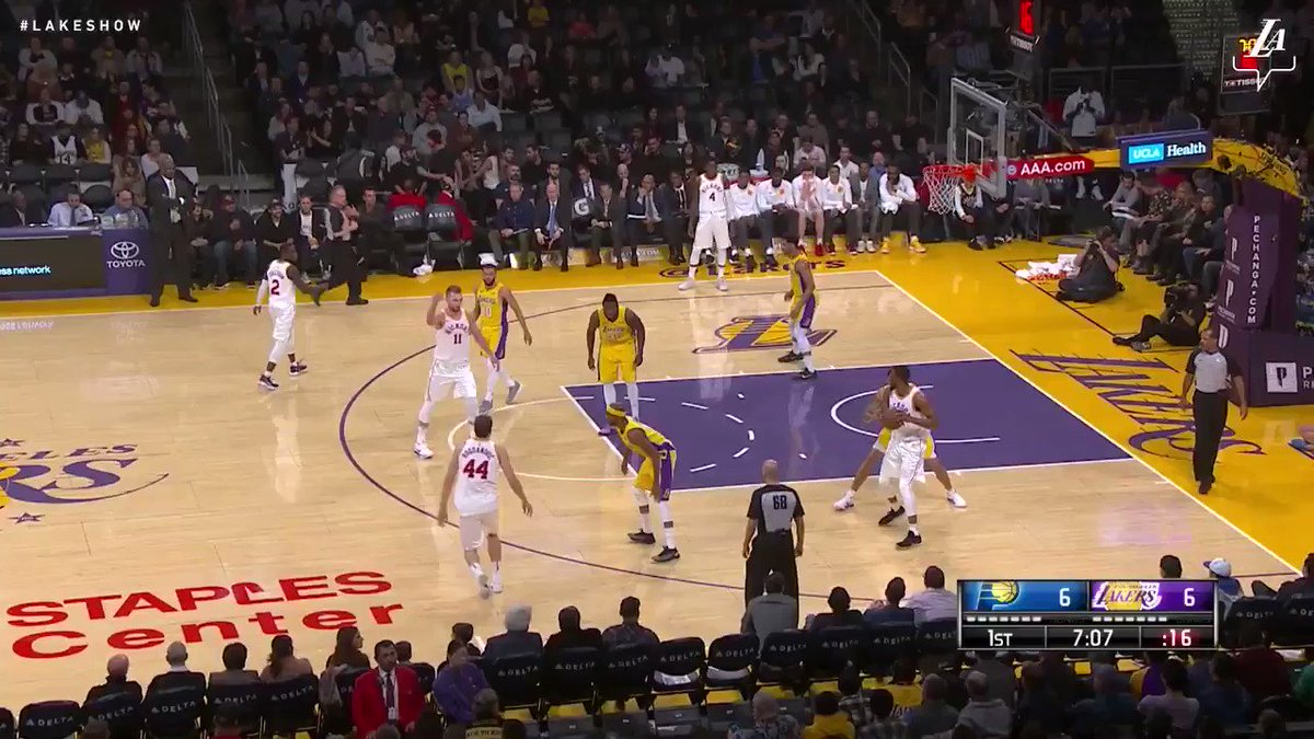�� Behind by Clarkson's game-high 33 points, the Lakers defeat the Pacers, 99-86. https://t.co/Gw1Rpqhkzh