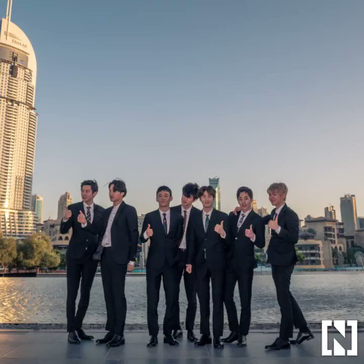 #ICYMI: K-pop group EXO took #Dubai by storm this week. https://t.co/kD1V2Ogv07 https://t.co/ZFnhGP1f1s