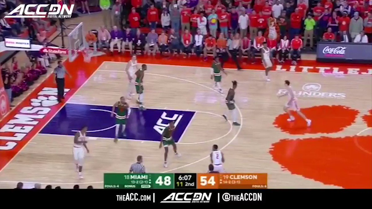 Here's to wishing for a speedy recovery for @ClemsonMBB senior @DonteGrantham32! https://t.co/1ZFGGHiJeT