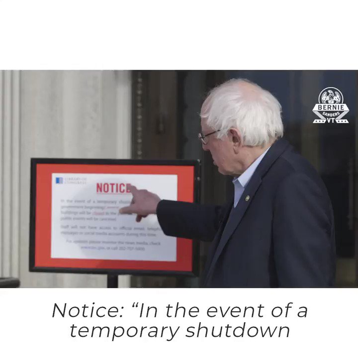 This government shutdown is part of the long-term, anti-government ideology paid for by the Koch brothers. https://t.co/gnx2xbOBPM