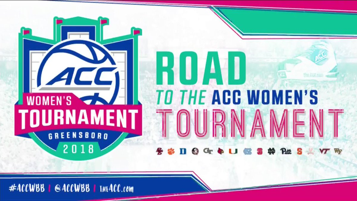 It's The Road To The Women's Basketball Tournament with @LaChinaRobinson! #ACCWBB https://t.co/HFzodaGjWZ