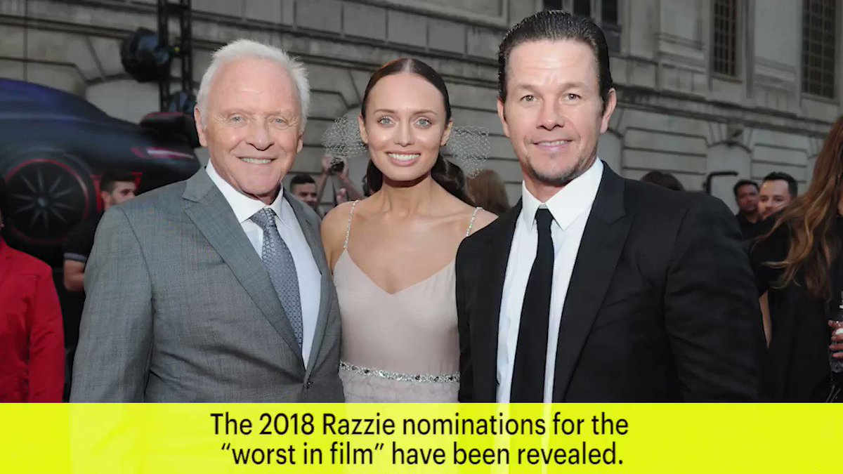 Nominations for the RazzieAwards are out! See full list of nominees: