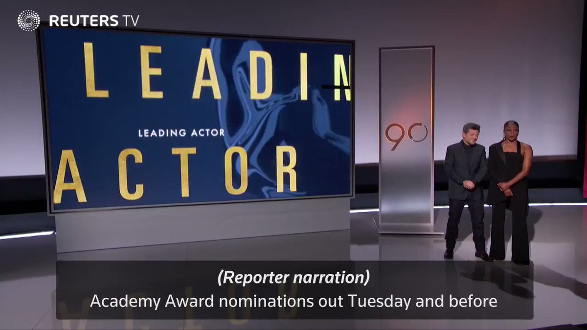 WATCH: The surprises and snubs of this year's Oscar nominations @ReutersTV