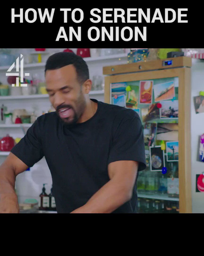 Our love for @CraigDavid goes onion and on. ❤️ #FridayNightFeast TONIGHT @Channel4 8pm. https://t.co/ZSyItSjtrw