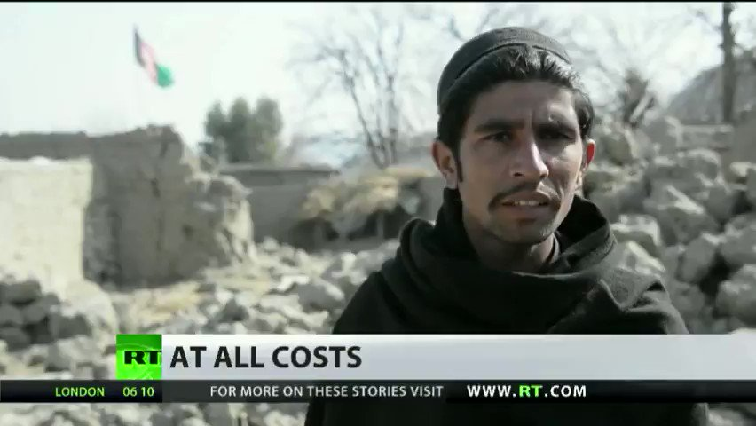 Afghan civilians recall airstrikes that leveled their villages & killed families