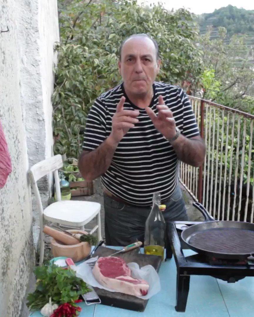 Saturday night = STEAK! @gennarocontaldo shows you how to make the most amazing beef steak EVER. https://t.co/IyWwNXZhvZ