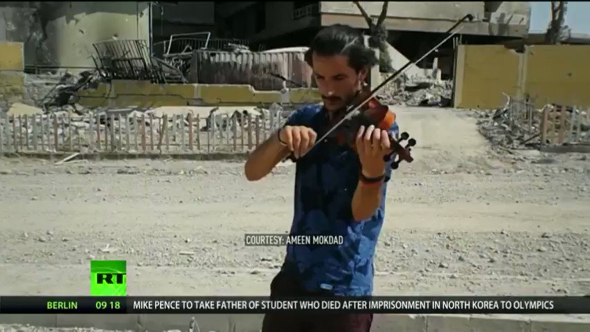 Mosul musician who defied ISIS describes life in 'destroyed city'