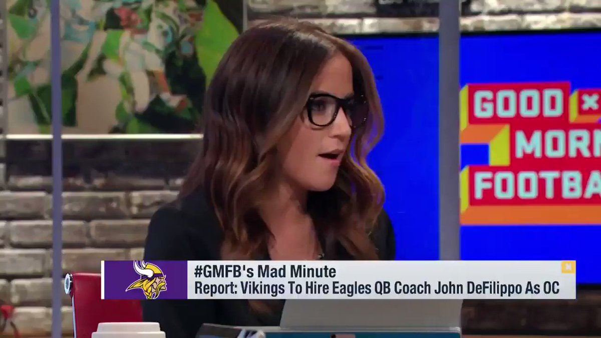 'DeFilippo is a genius, especially in the red zone.' - @PSchrags  ��: @GMFB/@NFLNetwork https://t.co/saIiSoccdz