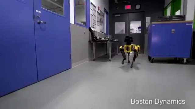 In other news, this @BostonDynamics robot just learned how to open doors and let itself out. https://t.co/7Q89uiWyCH