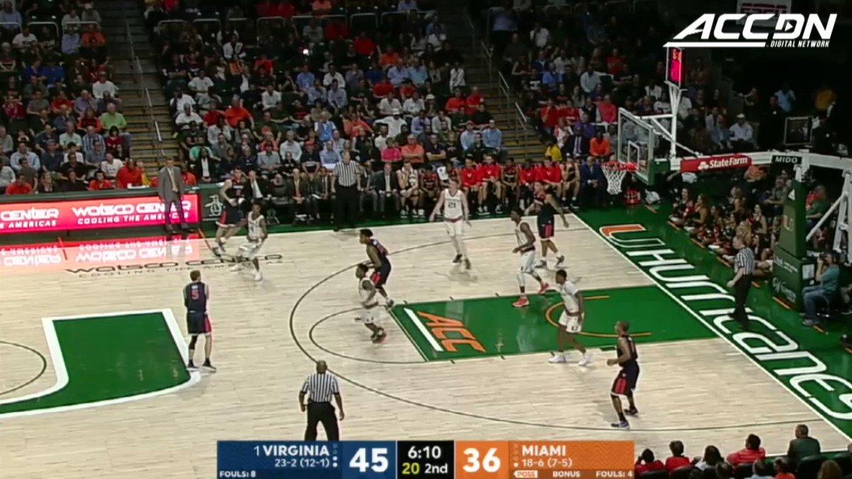 No  1 Virginia wins 59 50 at M de'andre hunter