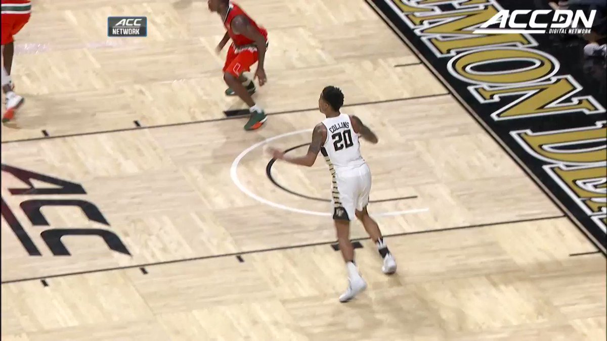 #TrueToAtlanta F John Collins has been getting buckets for as long as we can remember! Check out his best plays for @WakeMBB! #NBAAllStarWeekend https://t.co/rffoKfUYSm