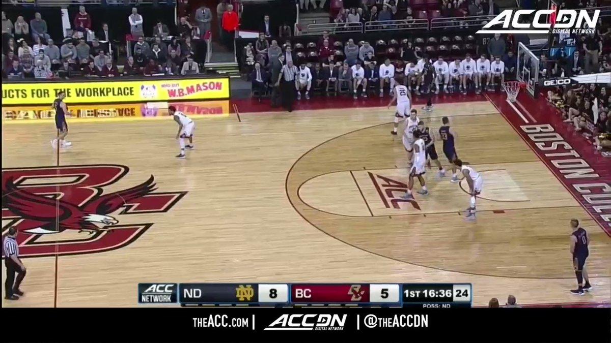 Matt Farrell just hit 🔟 threes for @NDmbb. Here's every single one of 'em: https://t.co/Ab0CNVBKDs