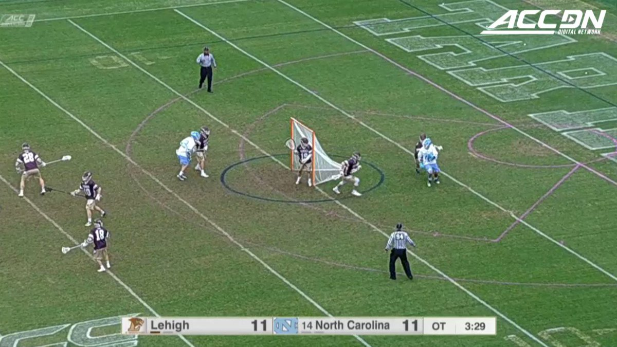 Of course this 🚀 from William Perry was the game-winner for @UNCMensLacrosse! https://t.co/Wg8FfGBqWd