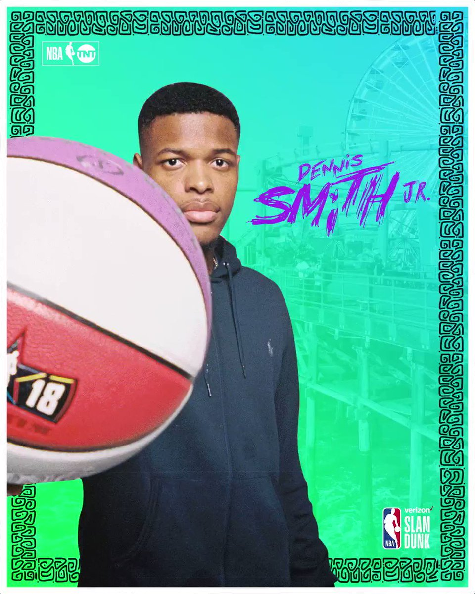 RT @NBAonTNT: This guy can get 🆙  Is @Dennis1SmithJr your pick to win the #VerizonDunk? 💪 https://t.co/14pvTtKIeD