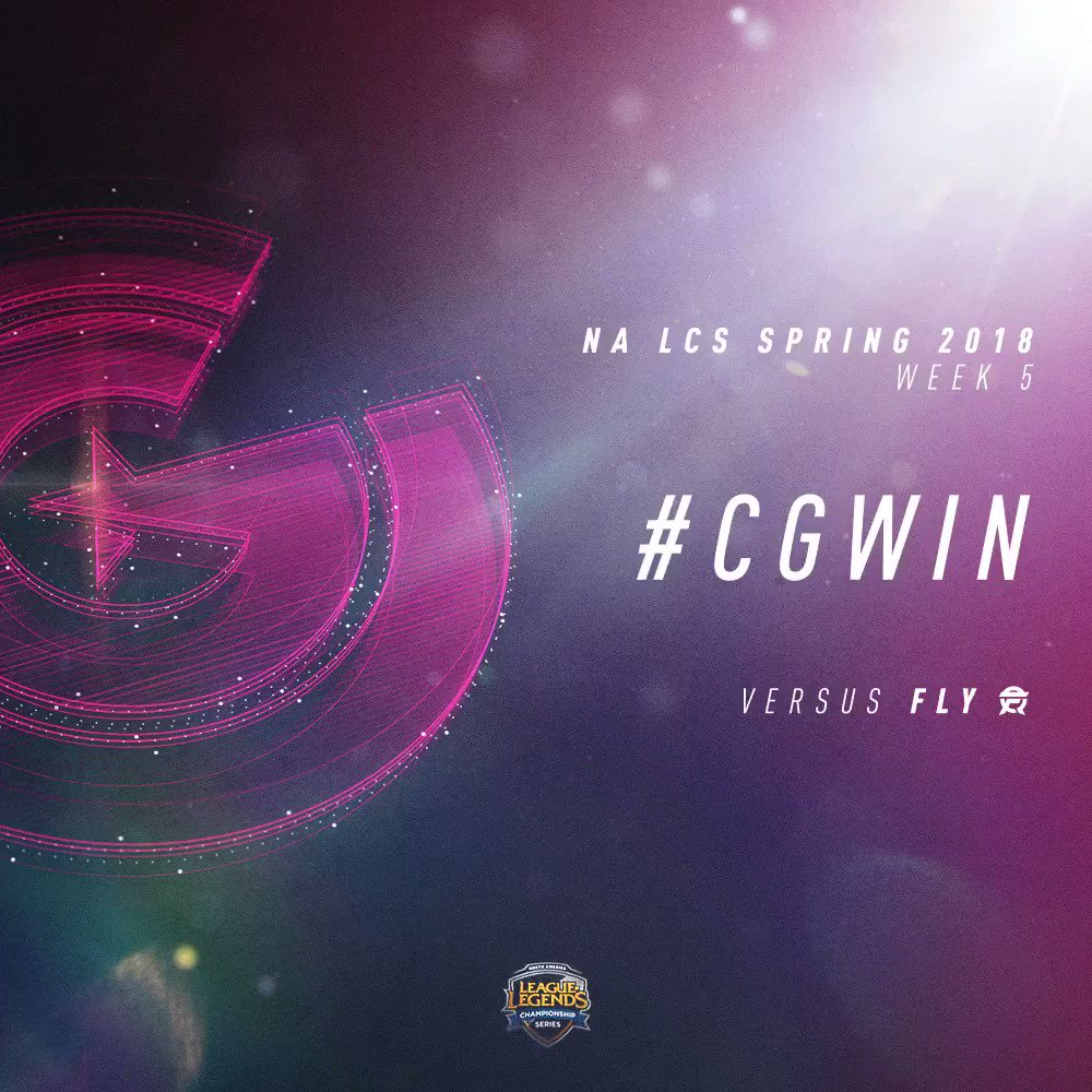 .@ClutchGaming pick up the win against @FlyQuestSports and are now 5-4 halfway through the Split! #CGWIN #NALCS https://t.co/7r5v0HqNTZ