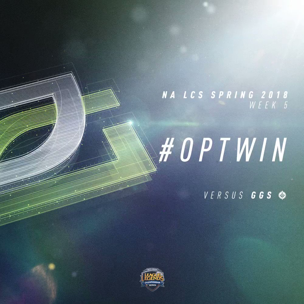 .@OpTicLoL pick up their third win of the Split as they take down @GoldenGuardians! #OPTWIN #NALCS https://t.co/QmjZKQ1Ifr