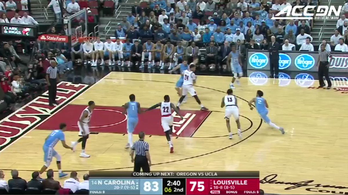 RT @theACCDN: You have to see this 🔥 chase-down block from @UNC_Basketball's Joel Berry II! #MustSeeACC https://t.co/ZnXJyMylA5