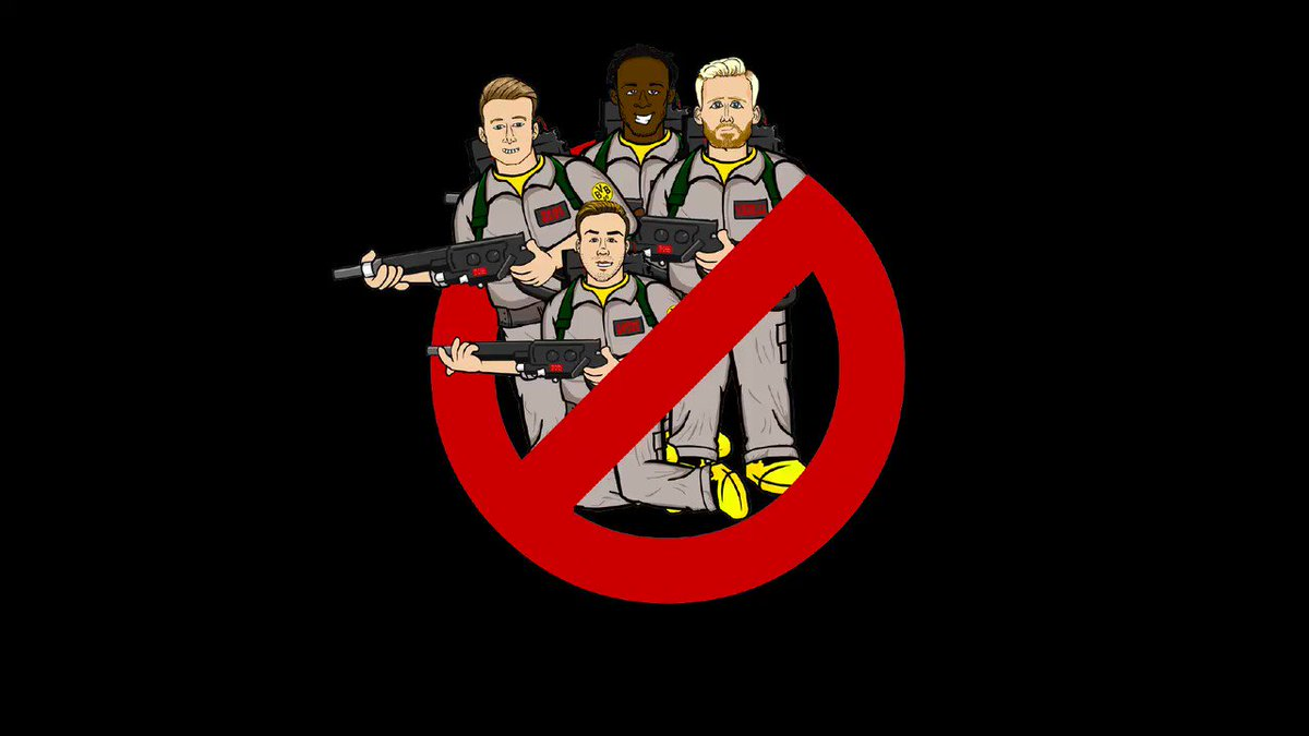 RT @Bundesliga_EN: Who ya gonna call? 👻 @442oons @BVB https://t.co/V68o0PfE1f