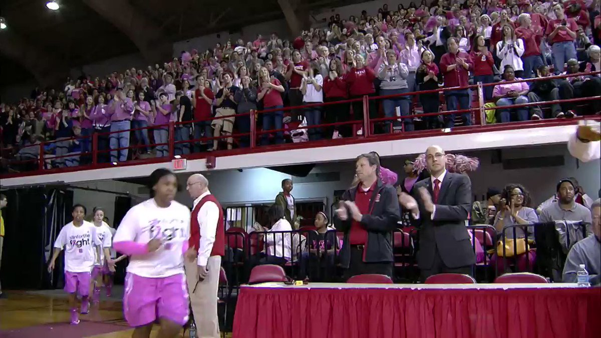 Tonight marks the final night of the 2018 Play4Kay initiative.  Learn more about the legacy of the great Kay Yow below and at https://t.co/EDX2yaVvFC. https://t.co/D5U1nn5ZxV