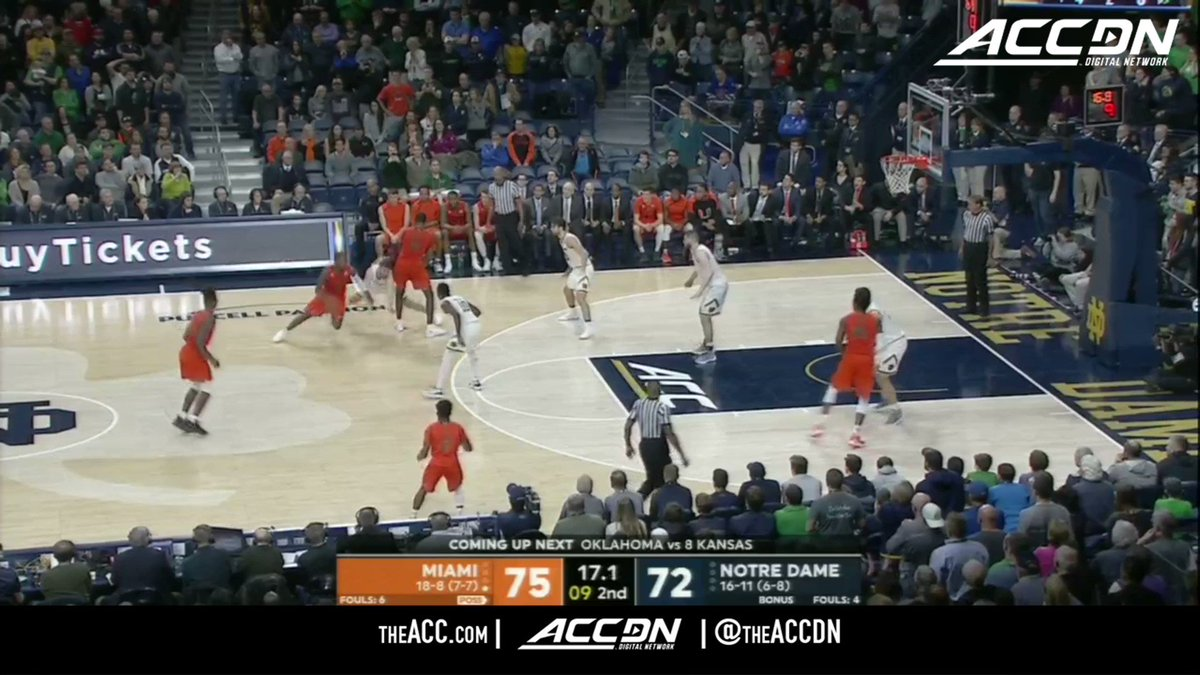 Ebuka Izundu seals it for @CanesHoops! https://t.co/jjzlFBnclF