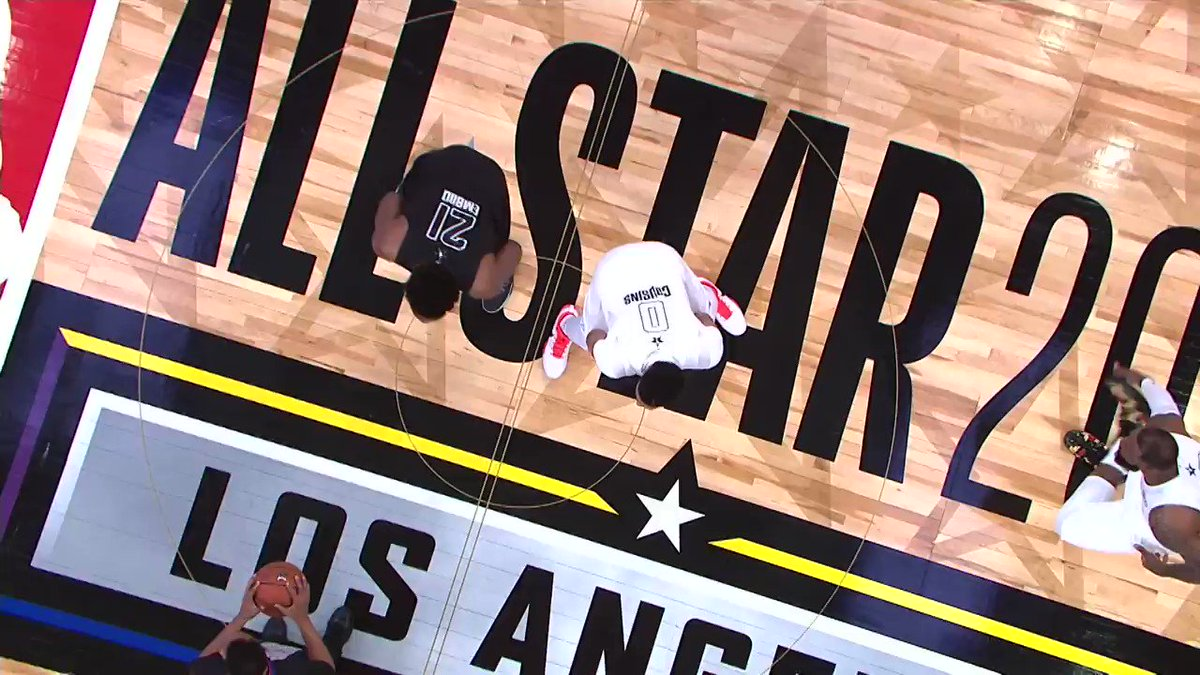 The 2018 #NBAAllStar Game, as heard around the world! https://t.co/FyF3ZC1FUp
