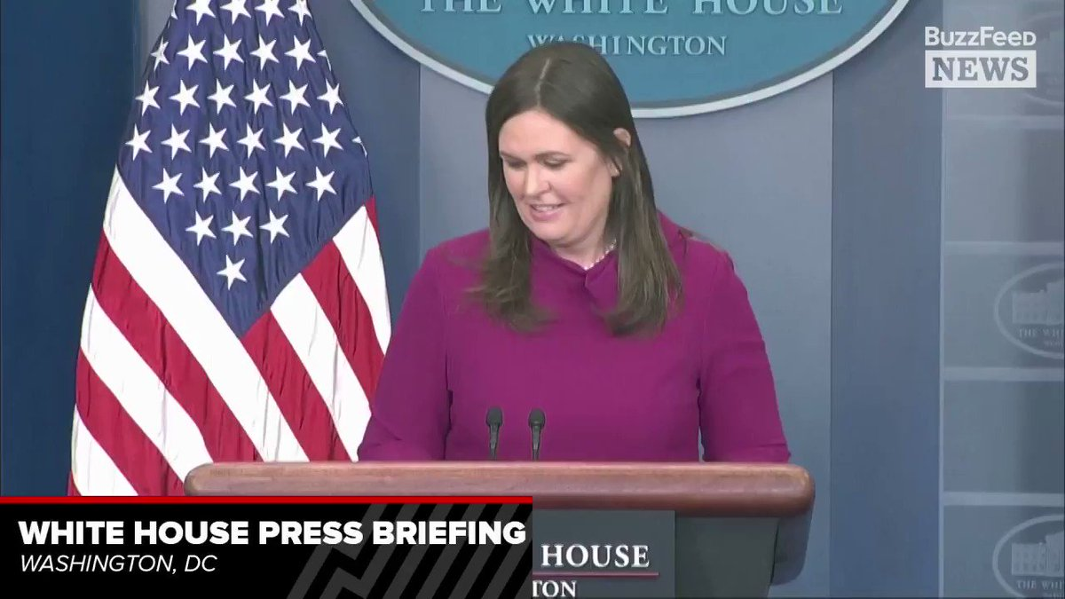 """Sarah Sanders on Trump's tweet criticizing the FBI for focusing on the Russia investigation instead of the Parkland shooter: """"He's making the point that we would like our FBI agencies to not be focused on something that is clearly a hoax"""" https://t.co/63EAofz4t3"""