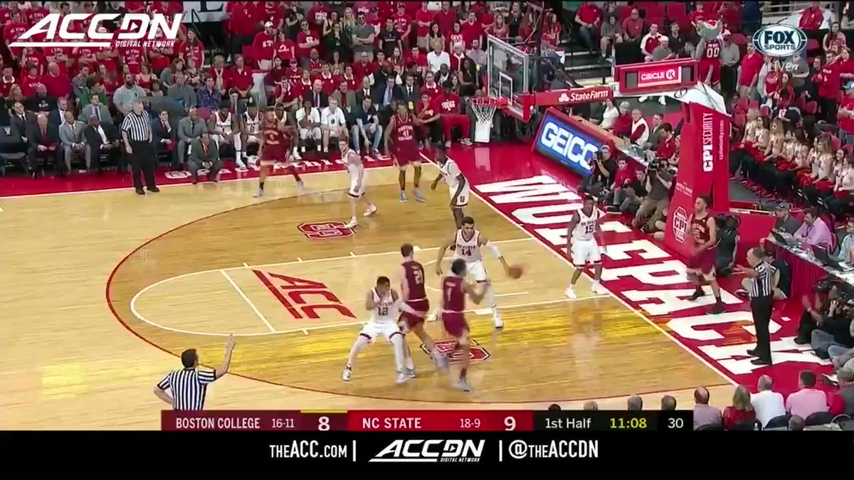 Allerik Freeman's 20 points leads @PackMensBball to a win on their home floor. https://t.co/qPlvngJe2K