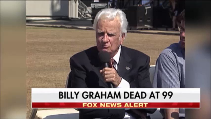 """""""I am a Christian today, in many ways, because of Billy Graham."""" -@robertjeffress https://t.co/jP31dg8xWn"""