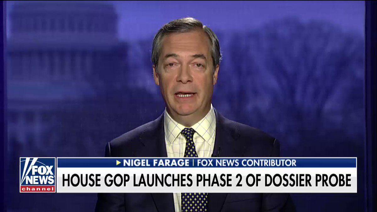 .@Nigel_Farage: 'Clearly there were all sorts of things going on between the Clinton campaign and the Russians.' https://t.co/UTLLkZ037C