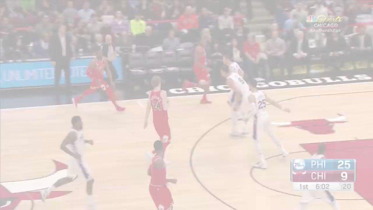 Bobby Portis puts up a career-high 38 off the @ChicagoBulls bench. #BullsNation https://t.co/a9SNqsUdhK