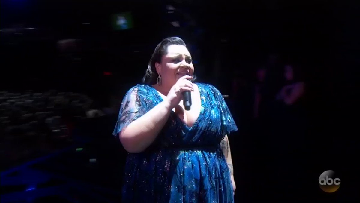 "Oscars: @KealaSettle performs ""This Is Me"" from @GreatestShowman"