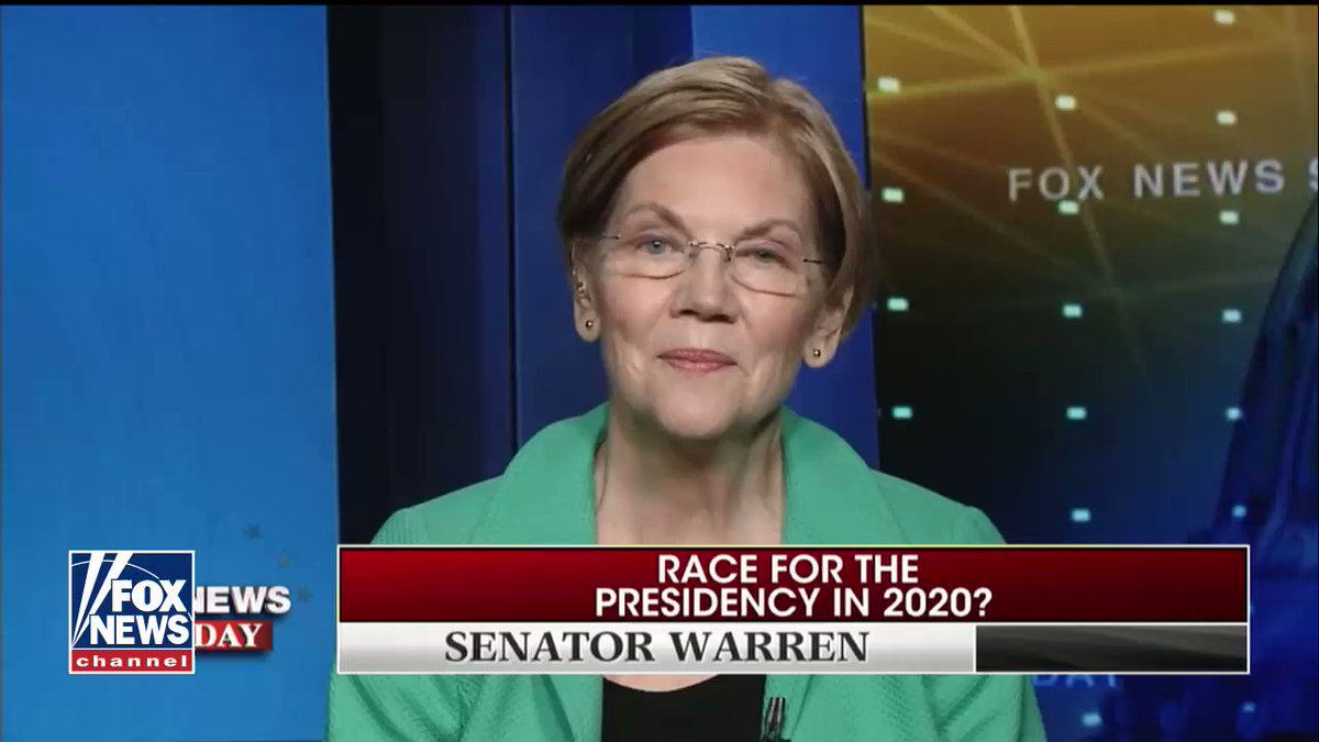 .@johnrobertsFox asked @SenWarren: 'Would you be willing to take a DNA test?'  This was her answer... https://t.co/DlweIGkKyl