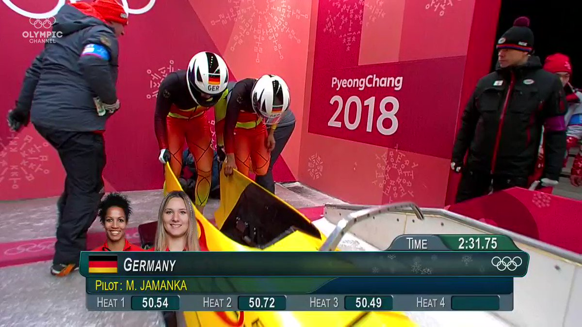 RT @olympicchannel: A steering masterclass takes Germany to gold 🥇! https://t.co/QZAizviWPw