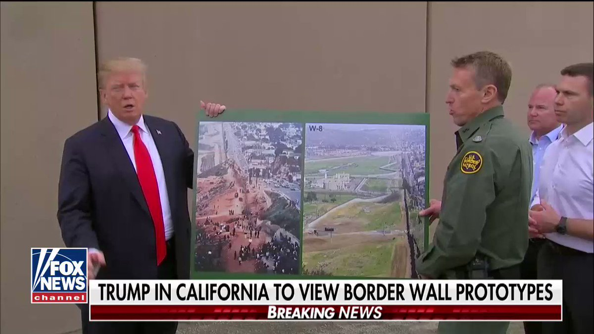 ".@POTUS: ""They re-established law & order in San Diego when they put up a wall."" https://t.co/JYaziX6jds https://t.co/Y5RyMB7Ck4"